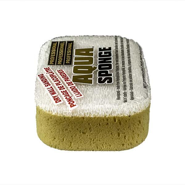 Aqua Sponge - AF2L-SS | Fine Pore Sanding Polyester Sponge - End Side w/pkg