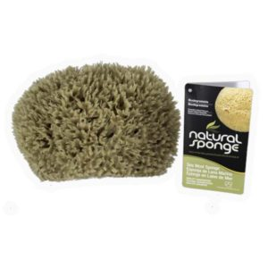 The Natural Brand - Wool Sea Sponge 6-7 Inch SW #1-7080C | Front with Label