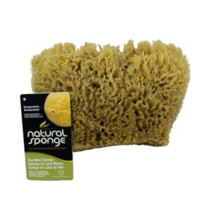 The Natural Brand - Wool Sea Sponge 5-6 Inch SW #1-1011C | Front with Label