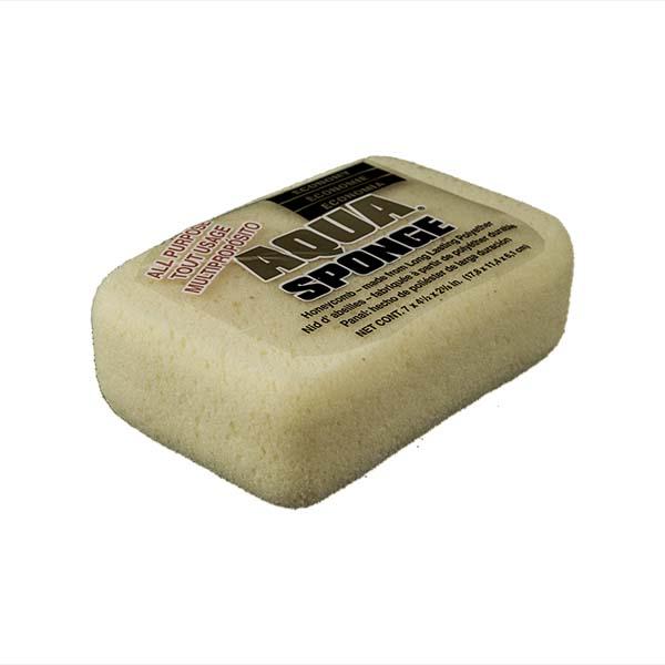 Aqua Sponge - HO2 | Large Economy Polyester Sponge - Top Side w/pkg
