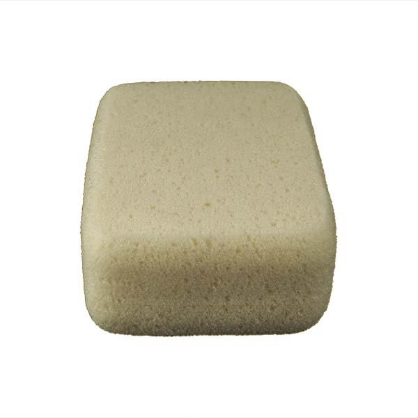 Aqua Sponge - HO2 | Large Economy Polyester Sponge - End Side