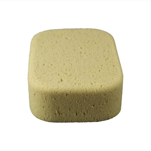 Aqua Sponge - AF2L | Professional Grade Utility Polyester Sponge - End Side