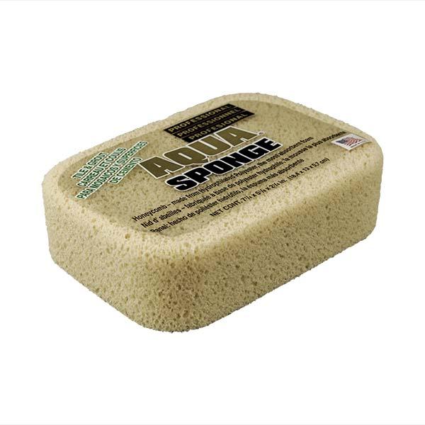 Aqua Sponge - AF2XL | Tile and Grout Polyester Sponge - Top Side w/pkg